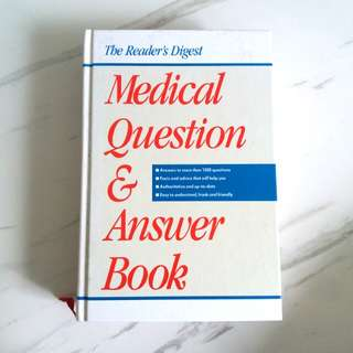 Reader's digest Medical Question & Answer Book