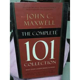 John C. Maxwell The Complete 101 Collection