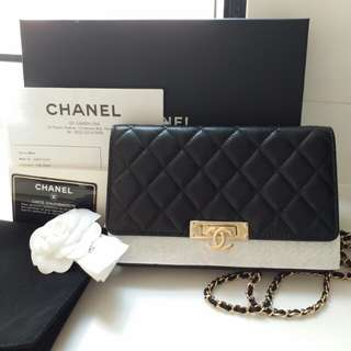 New Chanel Double CC Golden Class WOC