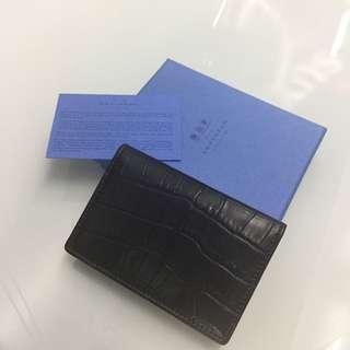 SMYTHSON OF BOND ST genuine leather card holder