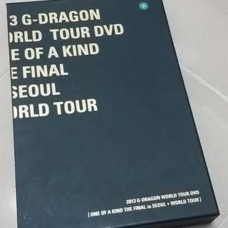 GDRAGON OOAK WORLD TOUR DVD