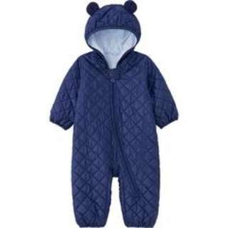 Baby body warm lite long sleeve one piece outfit(80cm)