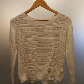 Kashieca Cream Sweater (pre-loved)