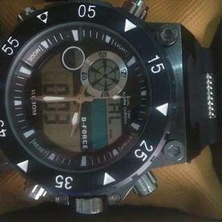 Jam tangan pria doubletime D-Force