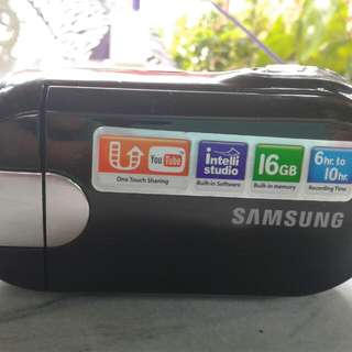 Samsung Memory mini camcorder