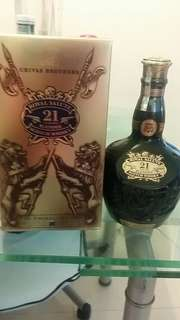 Royal Salute 21 years old blended scotch whisky威士忌