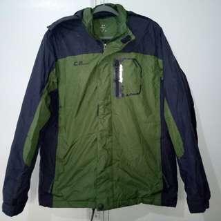 Men's heavy hiking jacket