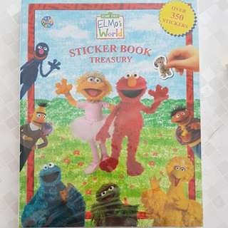 Elmo 's works sticker