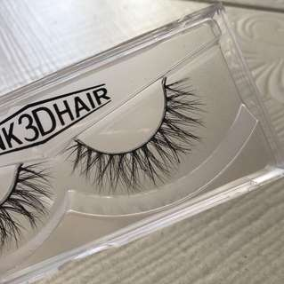 MINK FALSE EYELASHES (Tease)