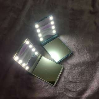 Portable Makeup Mirror with LED lights