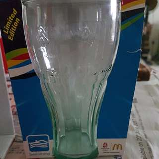 Coca Cola Glass Cup Olympic Swimming