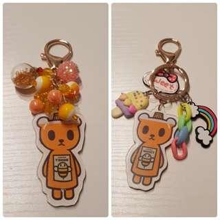 Tokidoki Acrylic Keychain - Bee Sweet