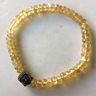 Citrine prosperity bracelet