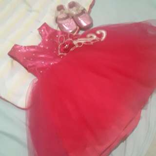 Preloved Fuschia Pink Gown
