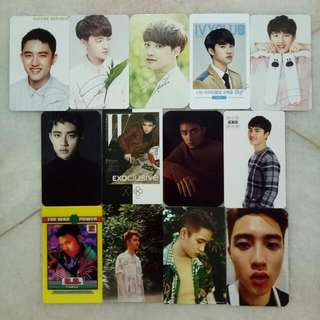 EXO D.O Unofficial Pc  RM2 each  RM3 each (power & kokobop)   Buy RM30 above FREE postage!!
