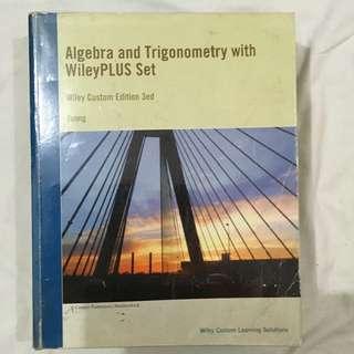Algebra and Trigonometry by Wileyplus
