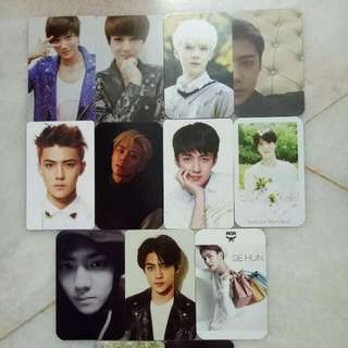 EXO Sehun Unofficial Pc  RM2 each  RM3 each (power & kokobop)   Buy RM30 above FREE postage!!