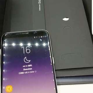 S8+  , 128GB.  紫色