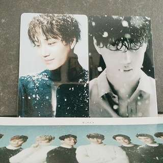 SING FOR YOU Kai Photocards ❄