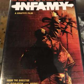 INFAMY Graffiti documentary original DVD