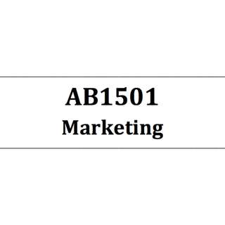 AB1501 Marketing NBS Self-made bible