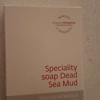 Botanicus specialty dead sea mud soap