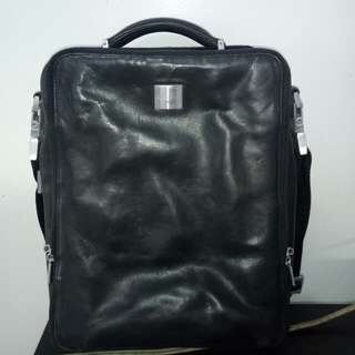 Porsche design leather bag