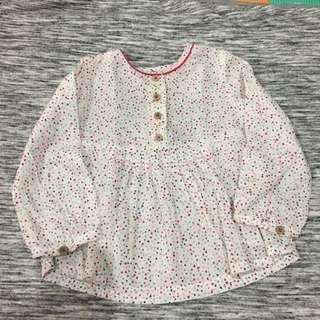 [Nett] Zara tunic 9/12mos