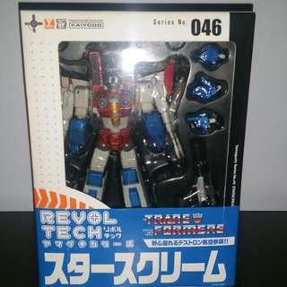 G1 Transformer Starscream Figures