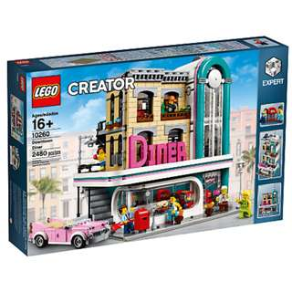 LEGO 10260 - Downtown Diner - neighbor of 10243 -10246 -10251- 10255