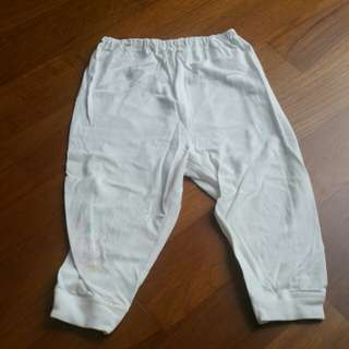 Preloved baby cotton pants (6 - 12m)
