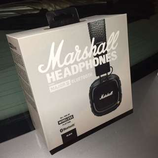 *INSTOCK* Marshall Major 2 Bluetooth Wireless Headphone