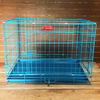 Pet Crates Large Collapsible Foldable Dog Cat Cage
