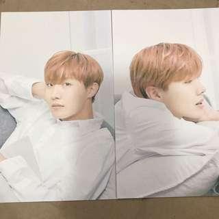 BTS x Mediheal Postcards Jhope