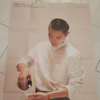 EXO D.O Universe folded poster