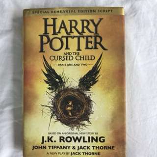 Harry Potter and the Cursed Child-Hard bound