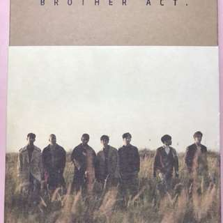 BTOB brother act. 連海報
