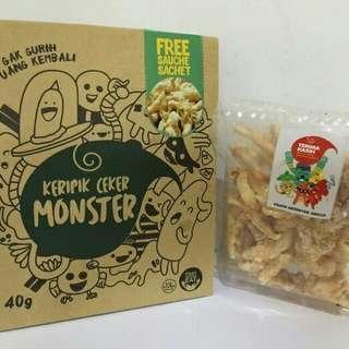 Keripik Ceker Monster