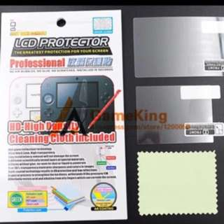 2DS LCD HD Screen Protector