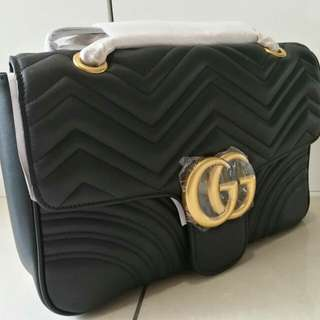🌼🌼READY STOCK🌼🌼Gucci marmont premium leather