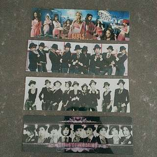 Girls Generation Transparent Cards