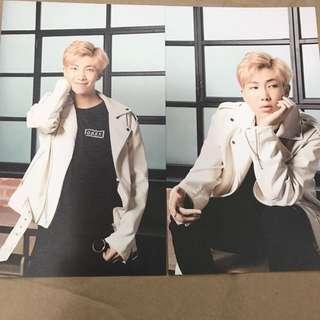 BTS x Mediheal Postcards RM