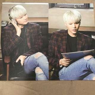 BTS x Mediheal Postcards Suga