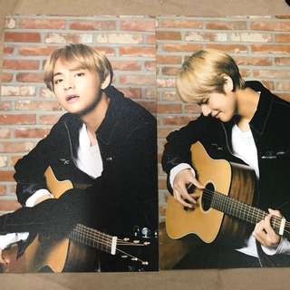 BTS x Mediheal Postcards V Taehyung