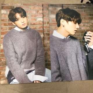 BTS x Mediheal Postcards Jungkook