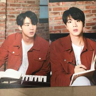BTS x Mediheal Postcards Jin