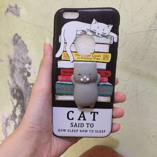 Case squishy cat iphone 6/6s