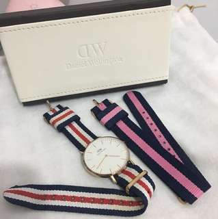 DW Daniel Wellington 配兩錶帶