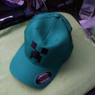 Original BN Minecraft cap and pouch for sale