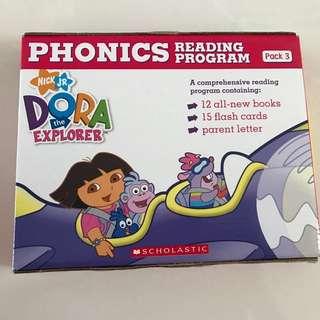 BNIB Scholastic NICK JR Dora Explorer Phonics Reading Set